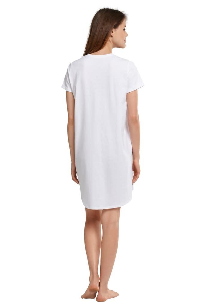 Nachthemd korte mouw 174668 - wit-2