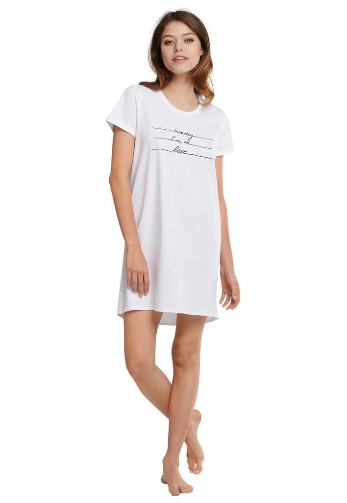 Nachthemd korte mouw 174668 - wit-1