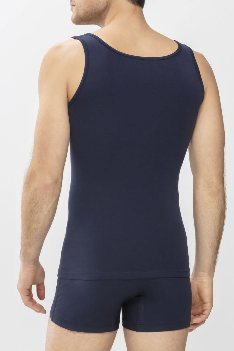 Singlet Casual Cotton 49100 - blauw-2