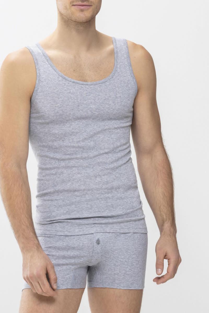 Singlet Casual Cotton 49100 - grijs-1