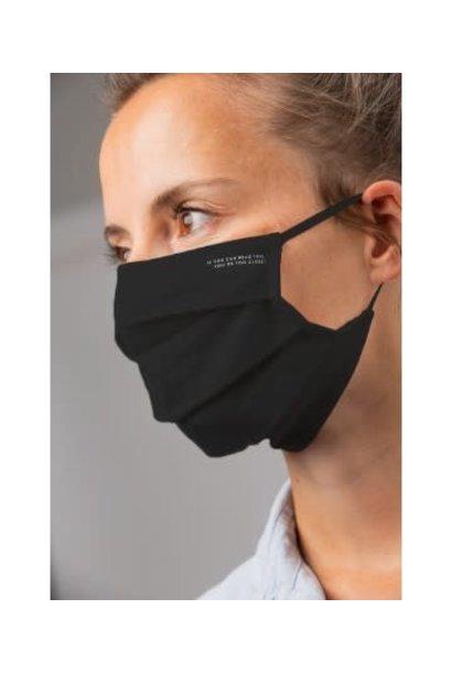 Dames mondmasker 39161 - zwart