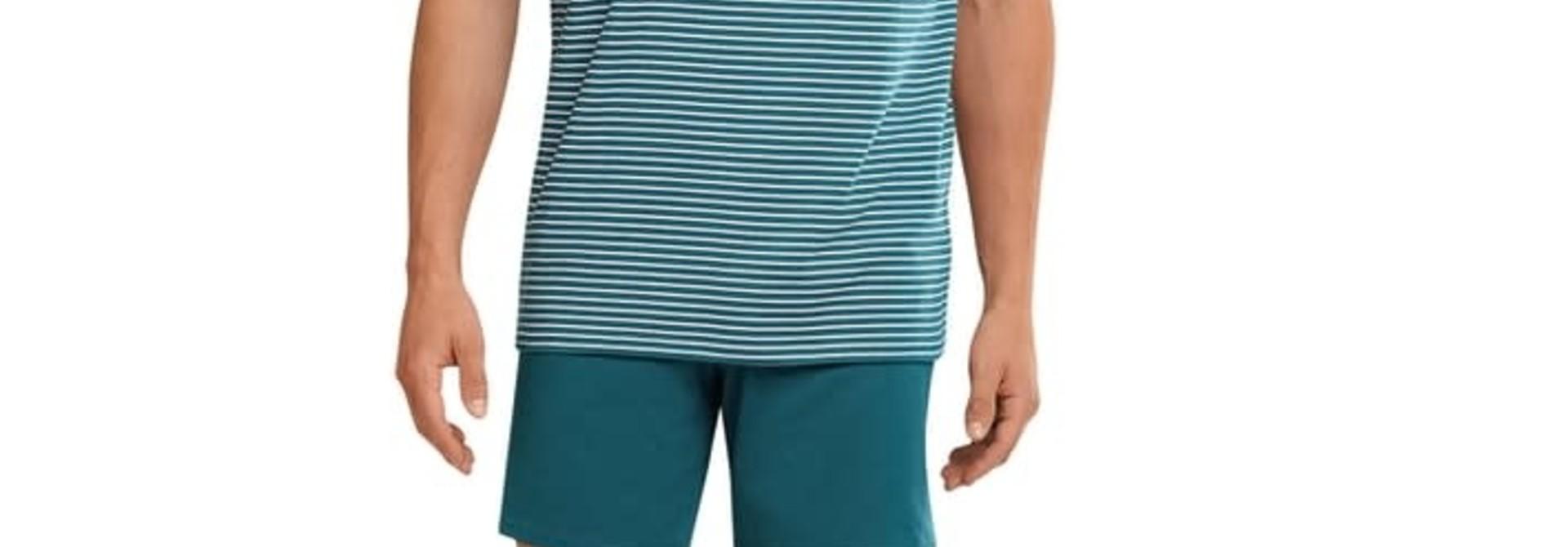 Pyjama korte mouw 173646 - blauw