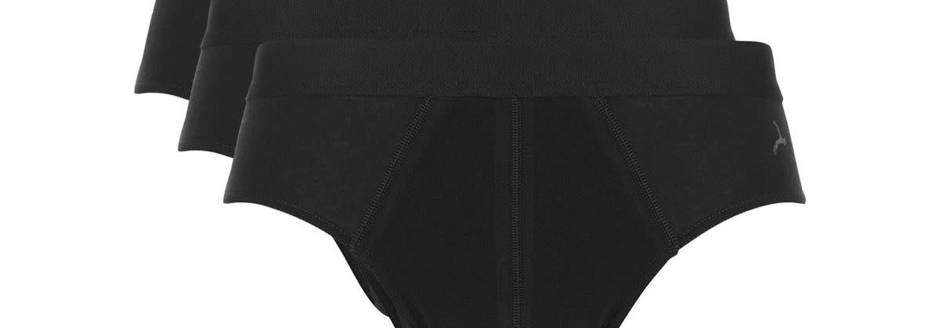 Slip Basic 3-Pack 30220 - zwart