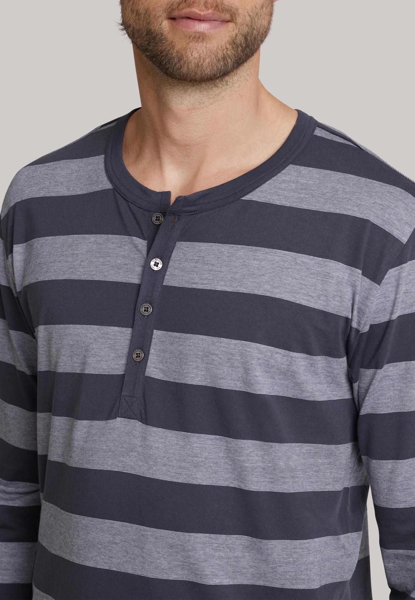 Pyjama lange mouw 159631 - grijs-3