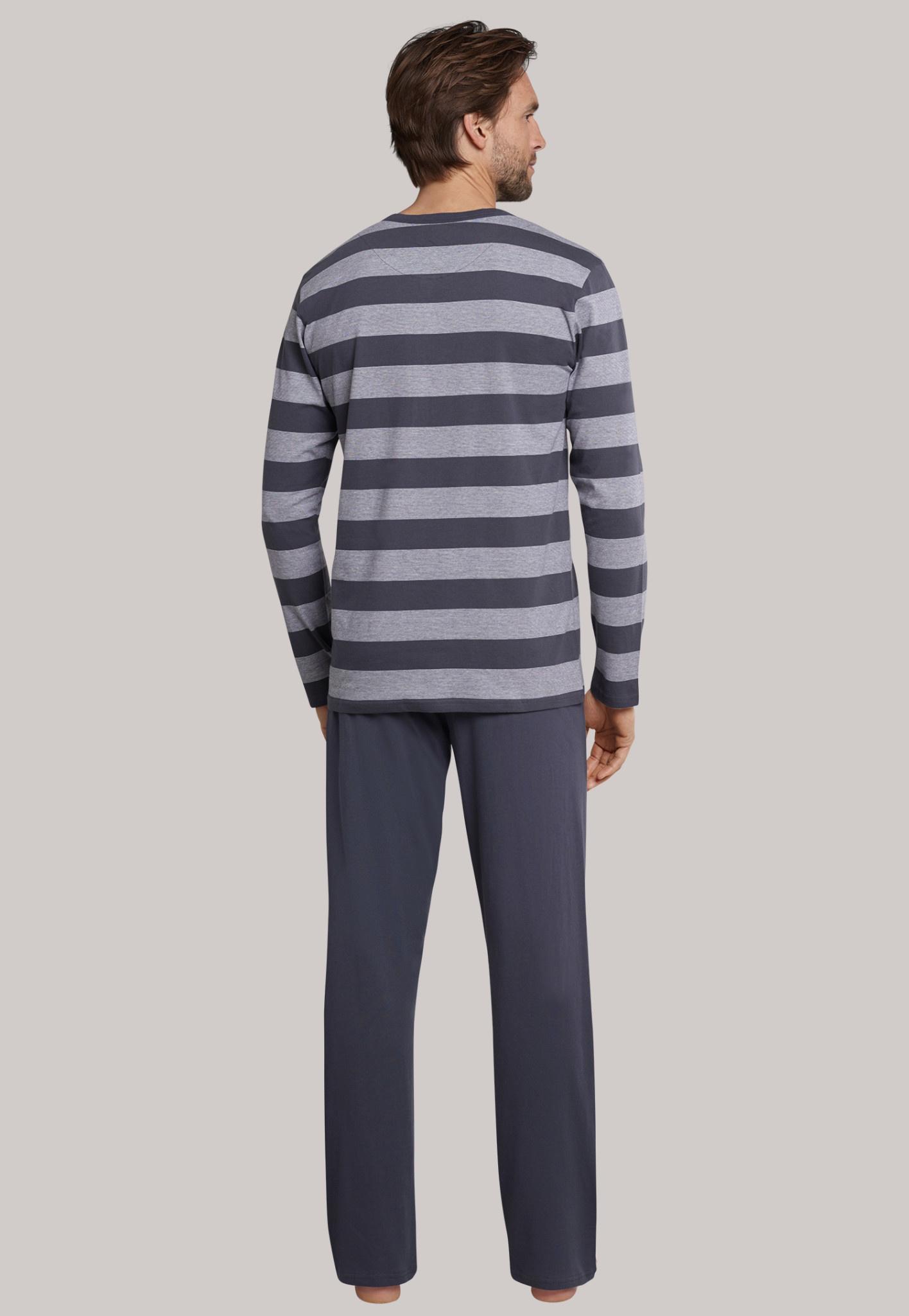 Pyjama lange mouw 159631 - grijs-2
