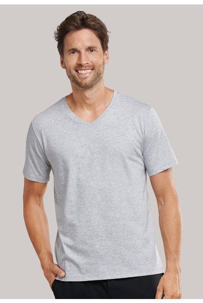 Shirt korte mouw Mix & Match 169872 - grijs