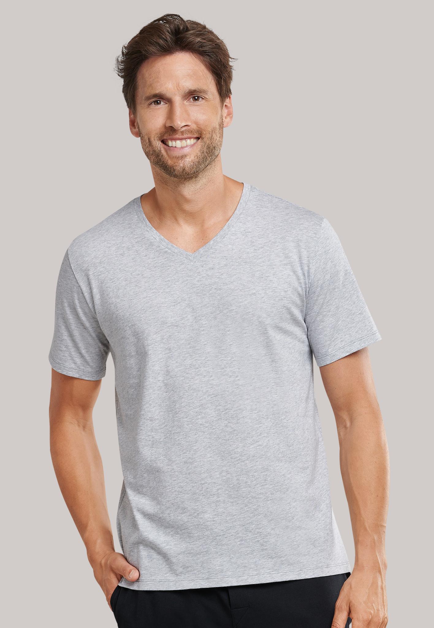 Shirt korte mouw Mix & Match 169872 - grijs-1