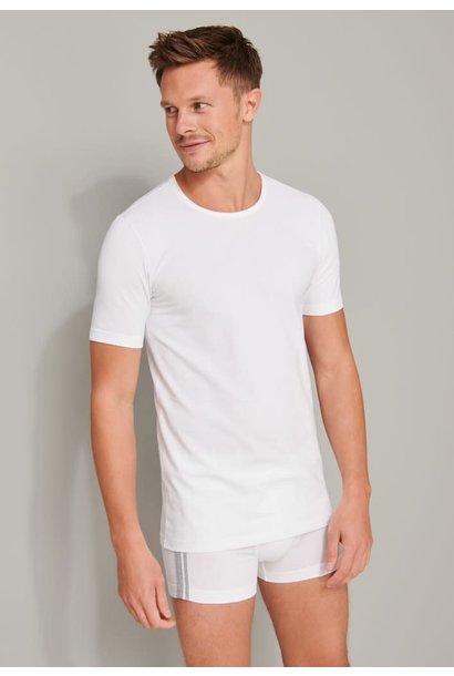 T-shirt ronde hals  95/5 2-Pack 174997 - wit