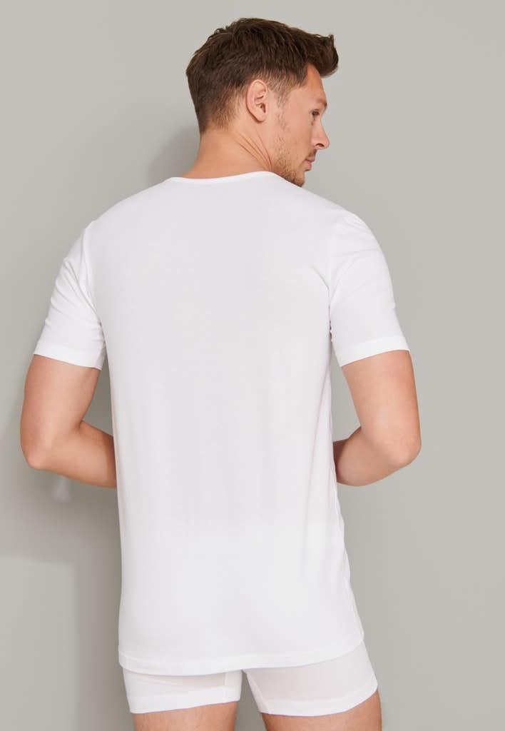 T-shirt ronde hals  95/5 2-Pack 174997 - wit-2