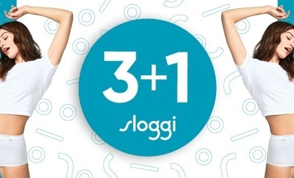 Sloggi Actie 3+1