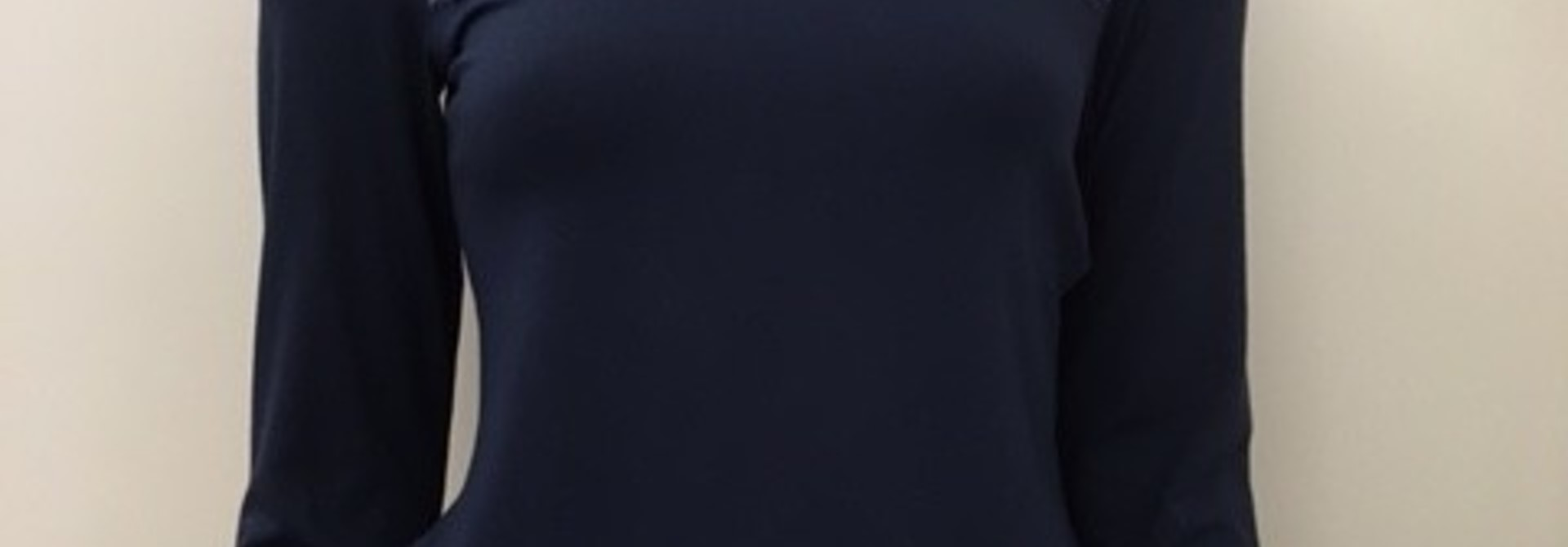 T-Shirt met kant lange mouw Greta 1045578 - atlantic