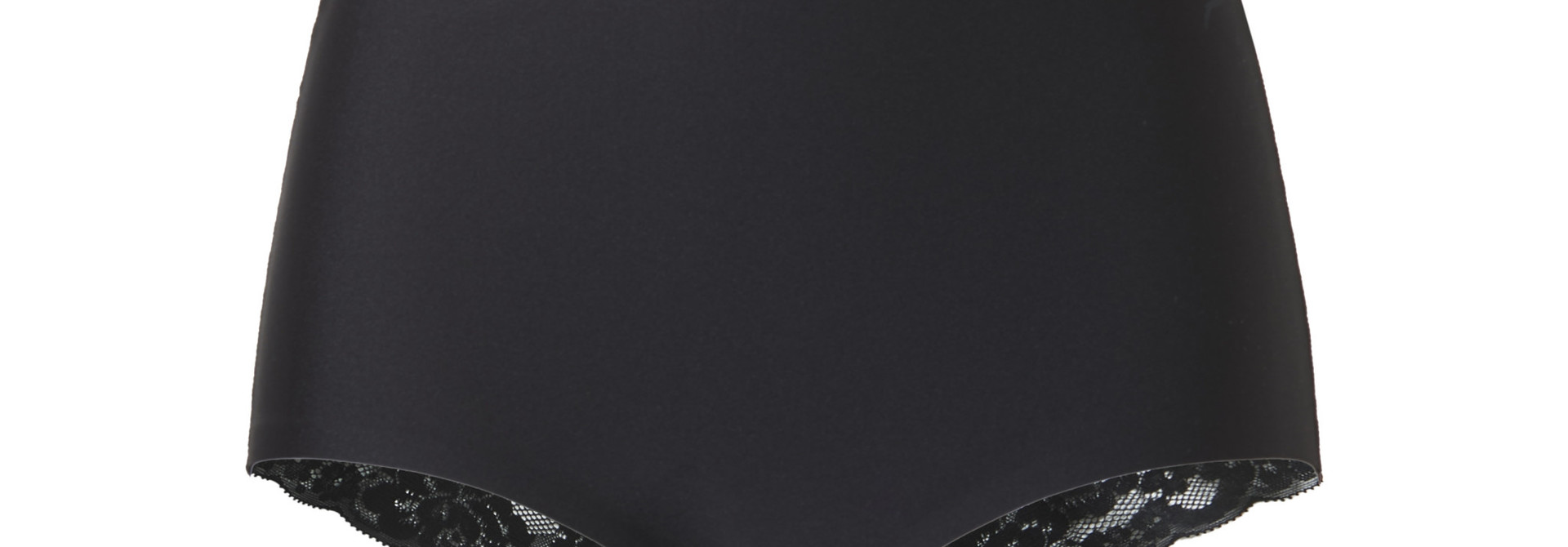 Maxi met kant Secrets 31758 - zwart