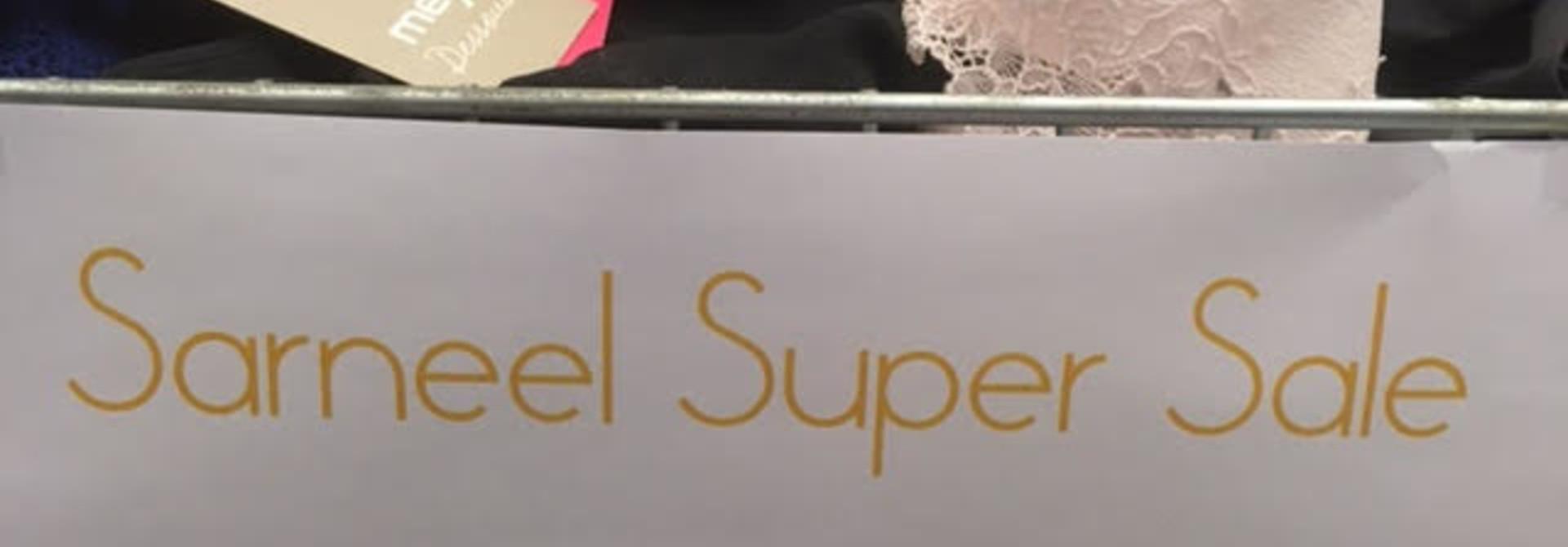 Onze Super Sale