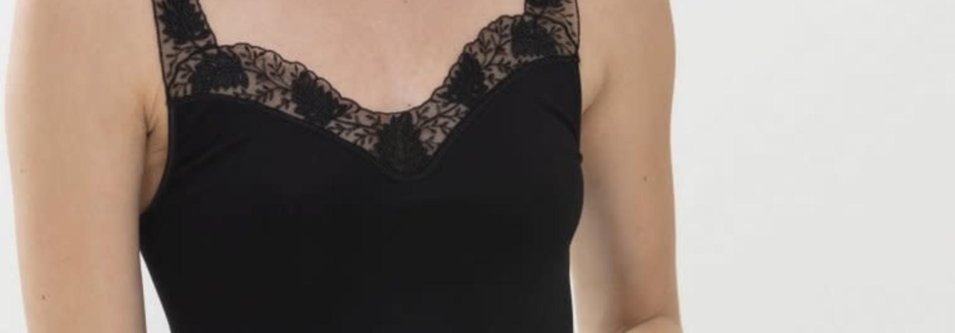 Hemd met kant Emotion Silhouette 55232 - zwart