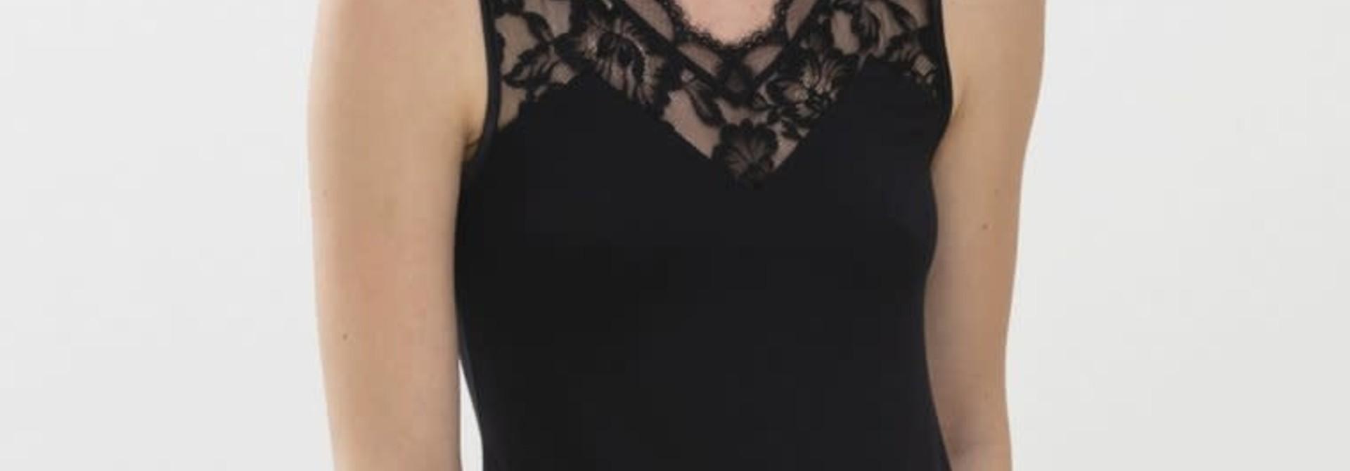 Hemd met kant Ilvy 45517 - zwart