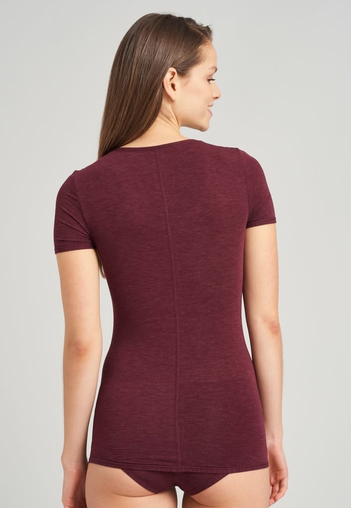T-shirt Personal Fit 155413 - burgundy-2