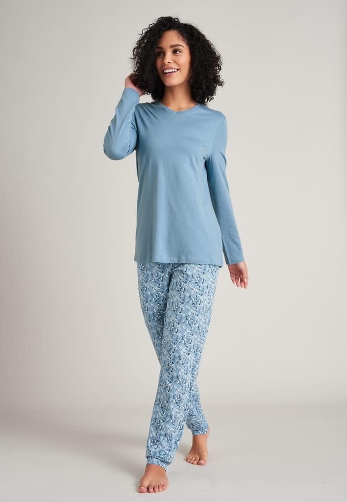 Pyjama lange mouw 175567 - lichtblauw-1