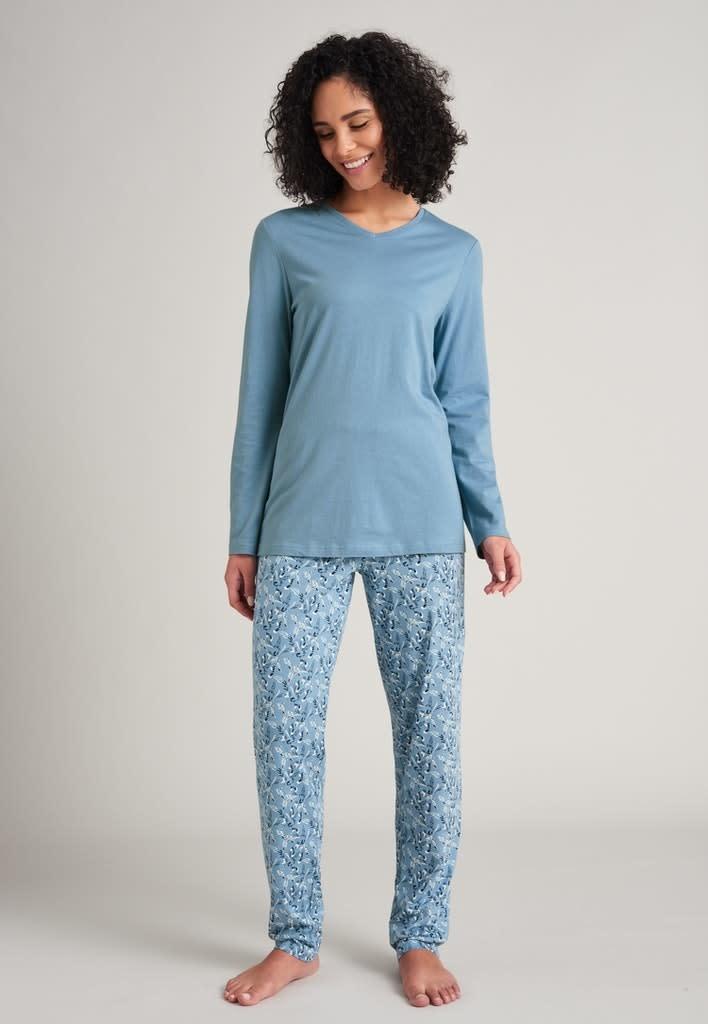 Pyjama lange mouw 175567 - lichtblauw-2