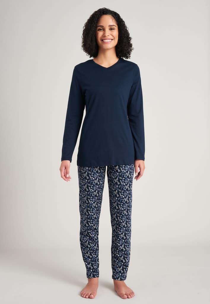 Pyjama lange mouw 175567 - donkerblauw-3