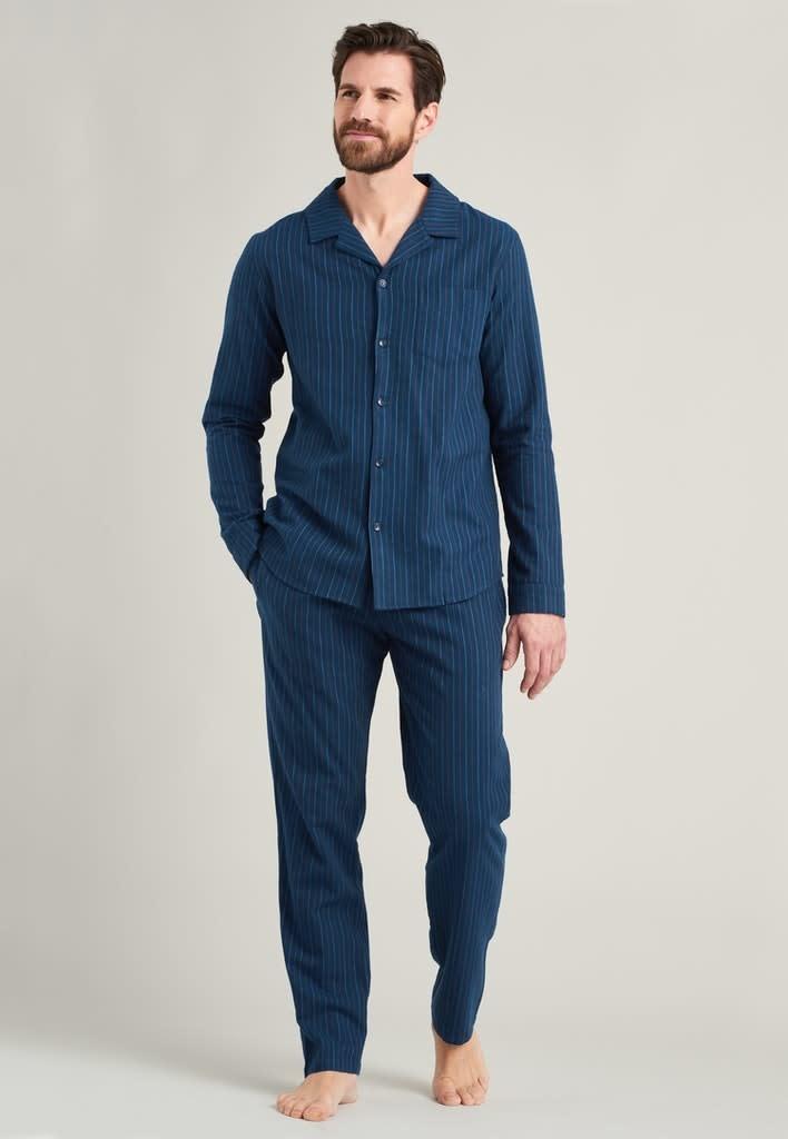 Flanel Pyjama lange mouw met knopen 175611-1