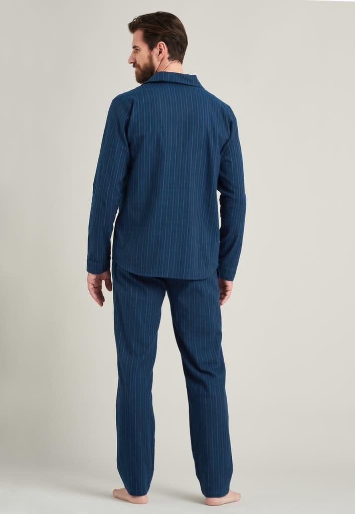 Flanel Pyjama lange mouw met knopen 175611-2