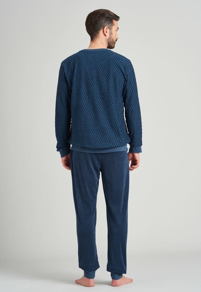 Badstof Pyjama lange mouw 175603-2