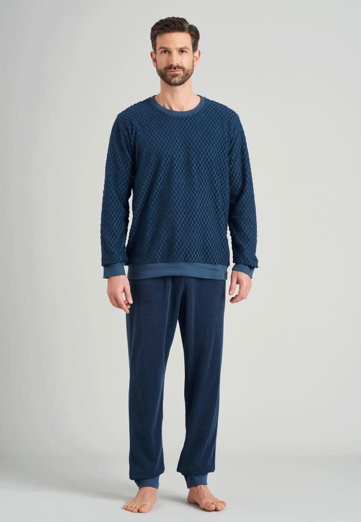 Badstof Pyjama lange mouw 175603-3