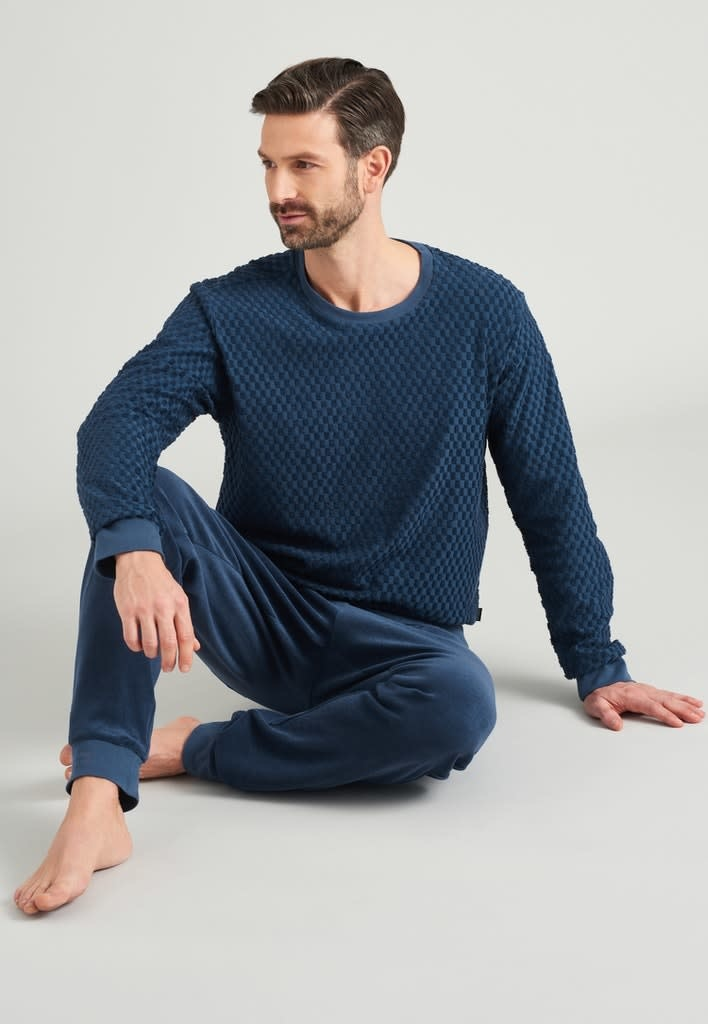 Badstof Pyjama lange mouw 175603-1