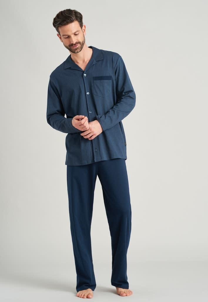 Pyjama lange mouw met knopen 175644-1