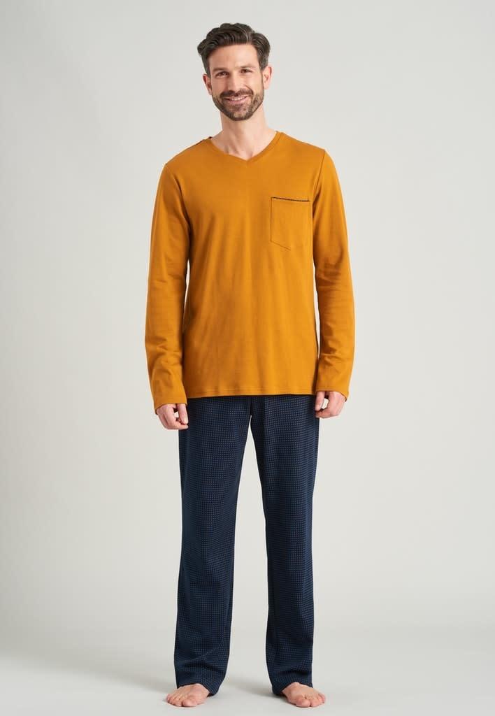 Pyjama lange mouw 175639 havana-3