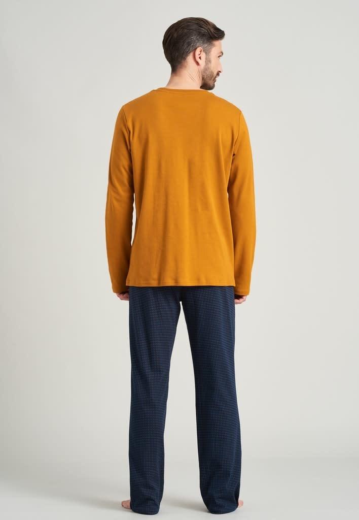 Pyjama lange mouw 175639 havana-2