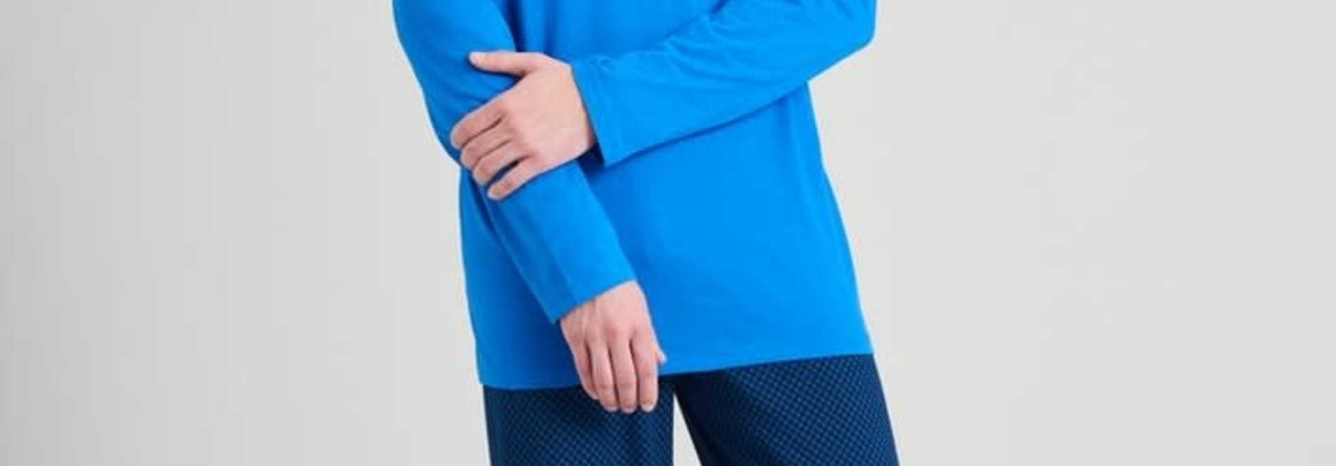 Pyjama lange mouw 175678 royal blue