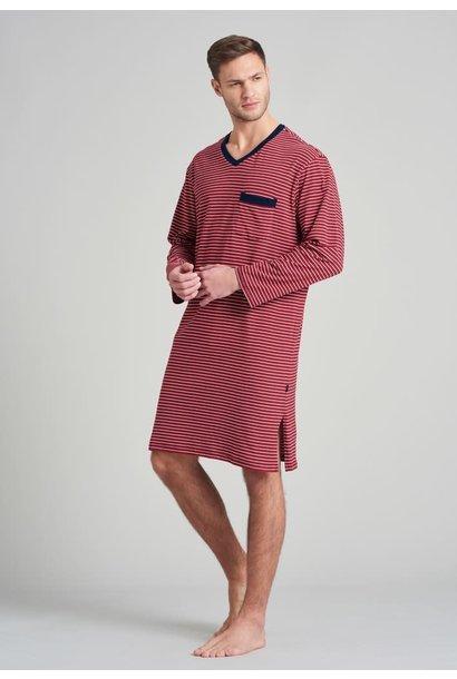 Nachthemd lange mouw 175685 - rood