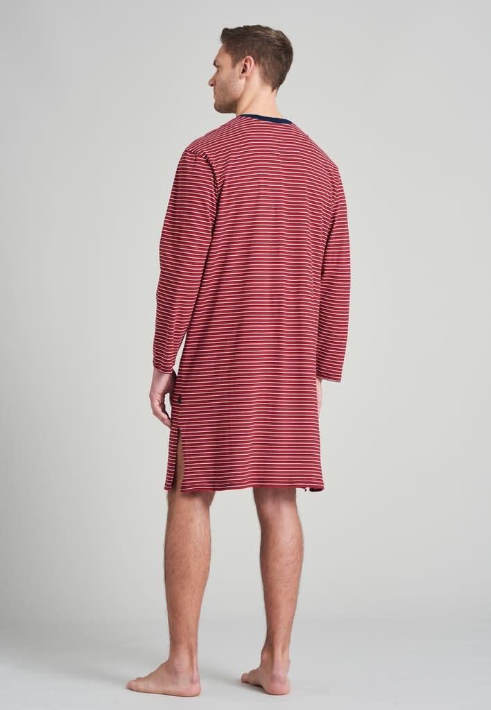 Nachthemd lange mouw 175685 - rood-2
