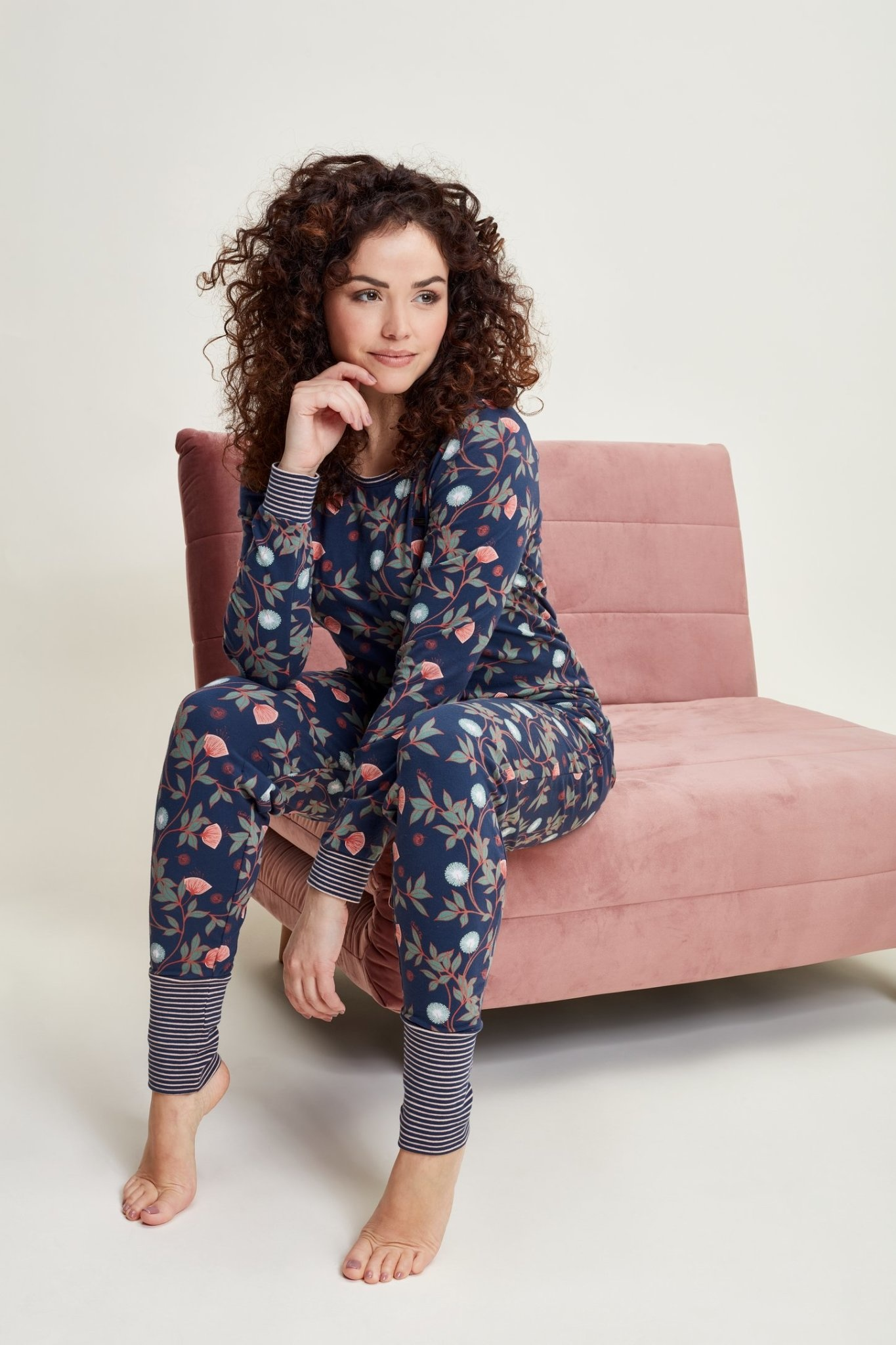 Pyjama lange mouw 41123-1