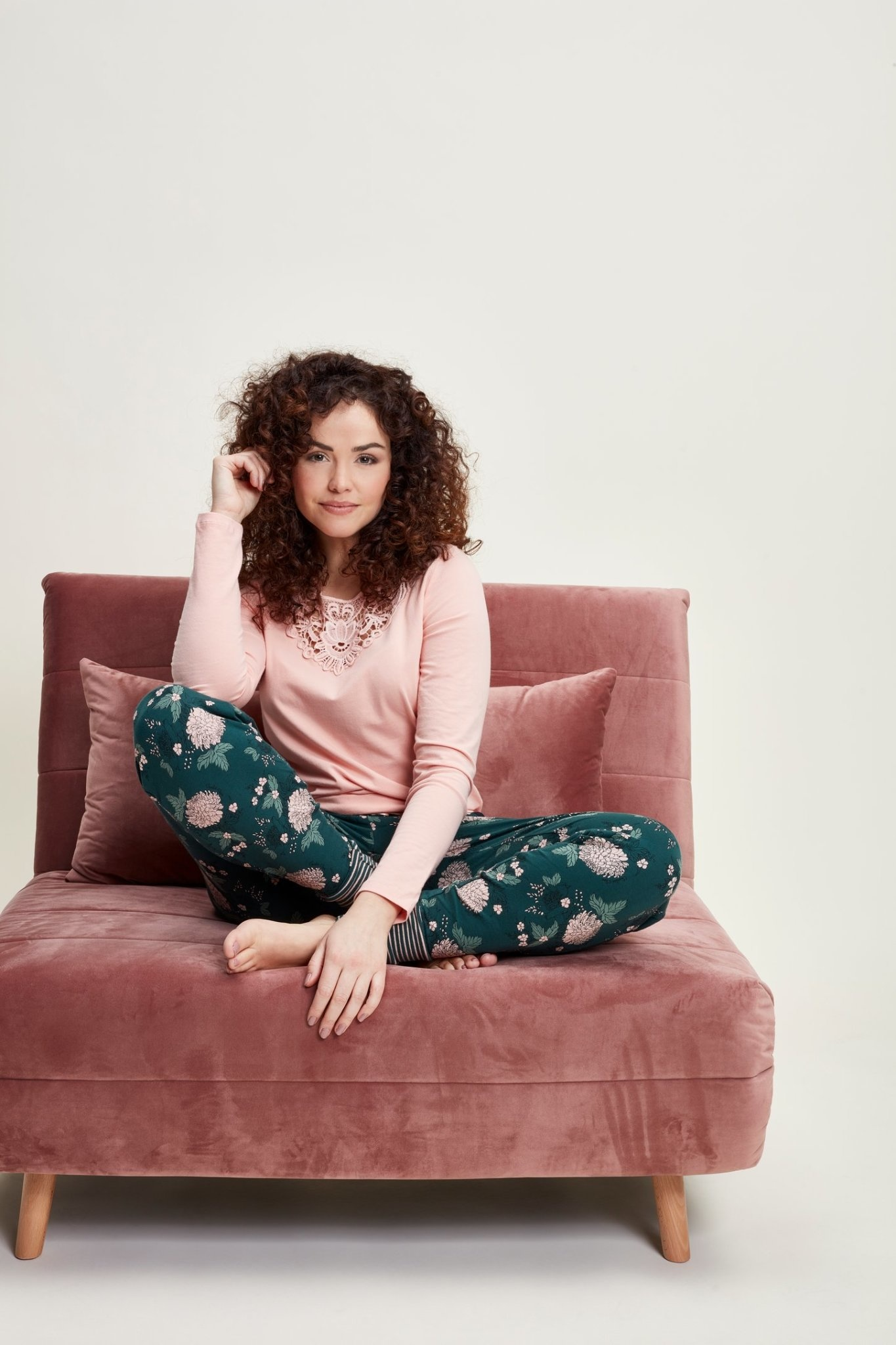 Pyjama lange mouw 41128-1