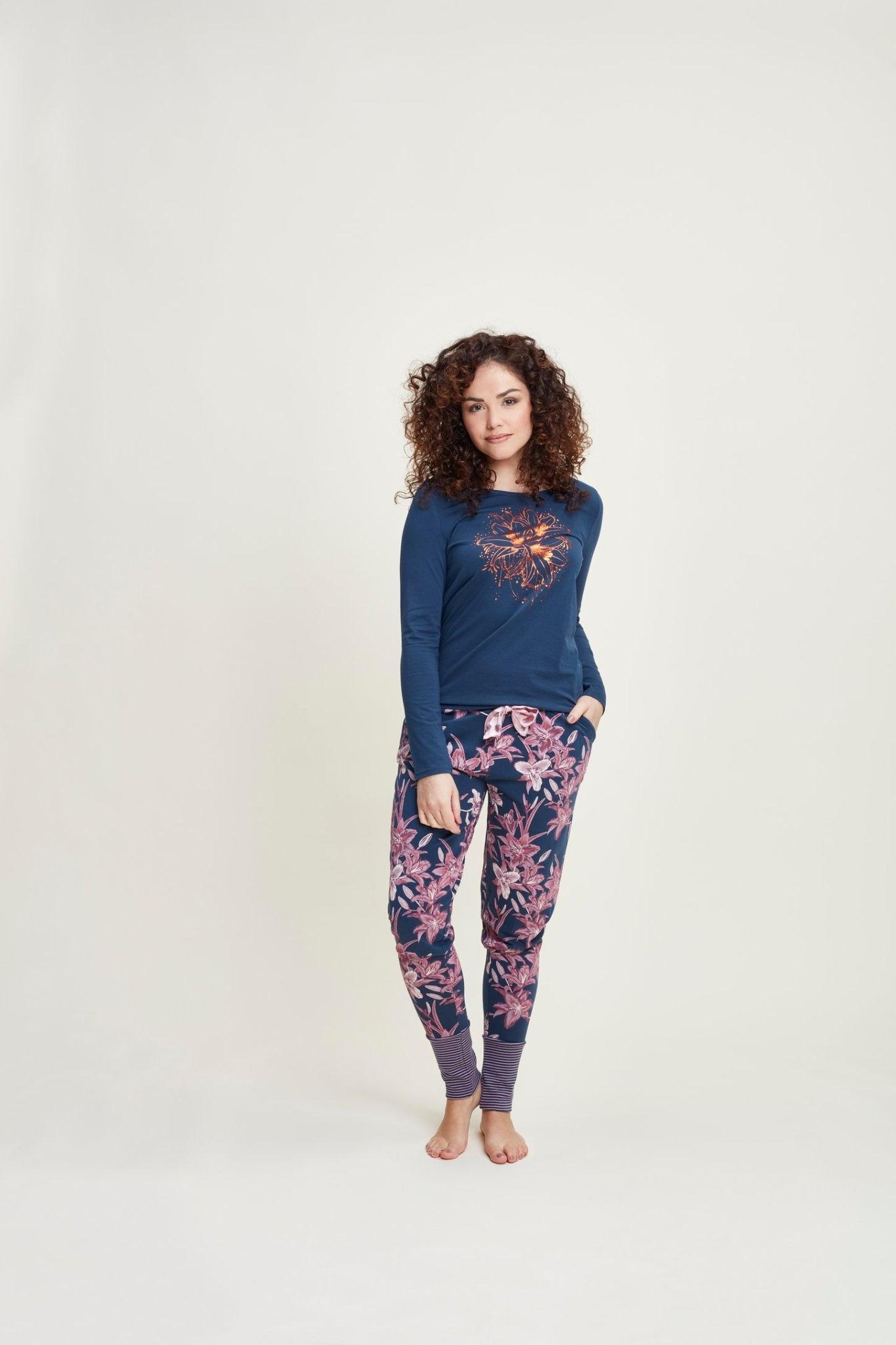 Pyjama lange mouw 41110-1