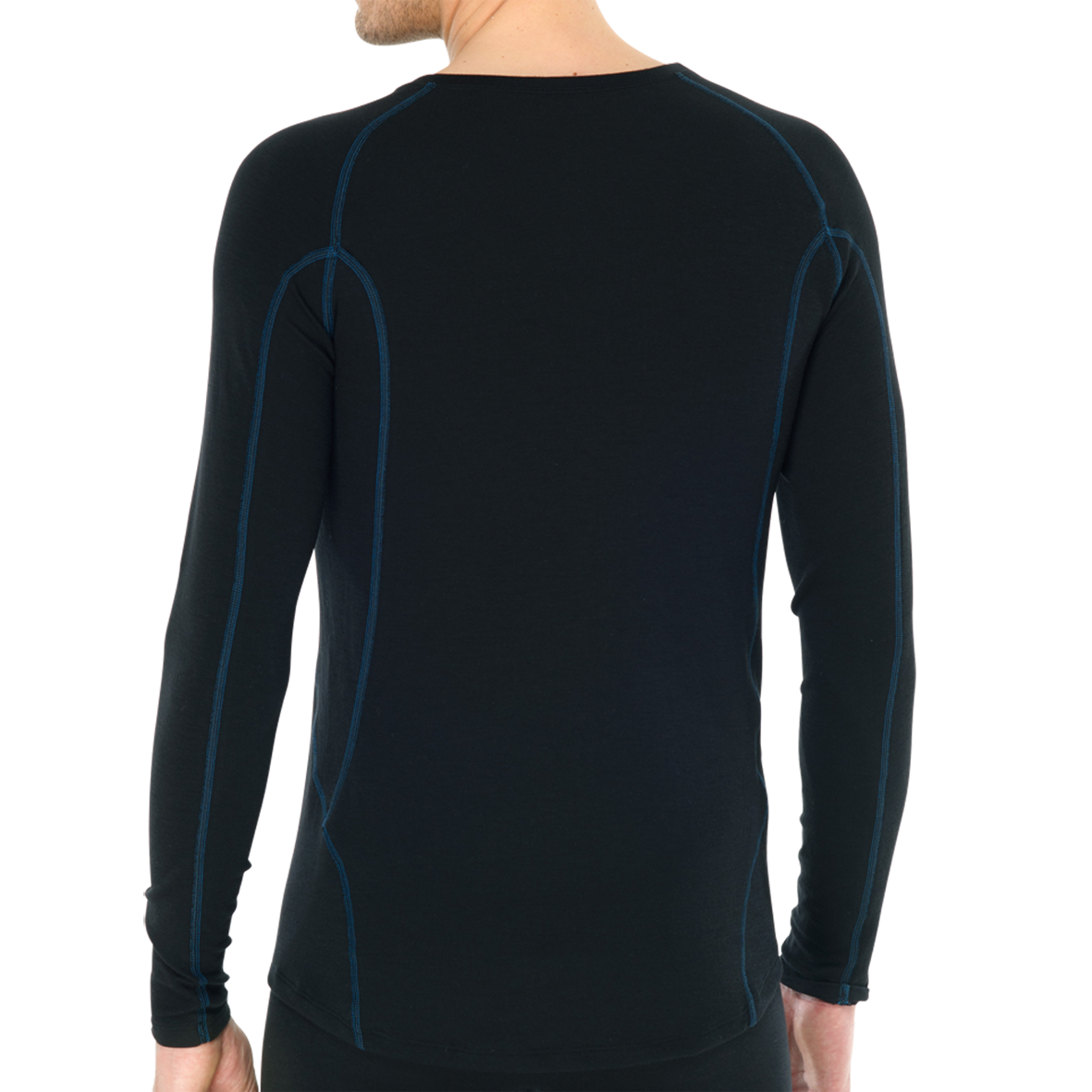 Thermo T-shirt met lange mouw 135306 - zwart mt. 4-2