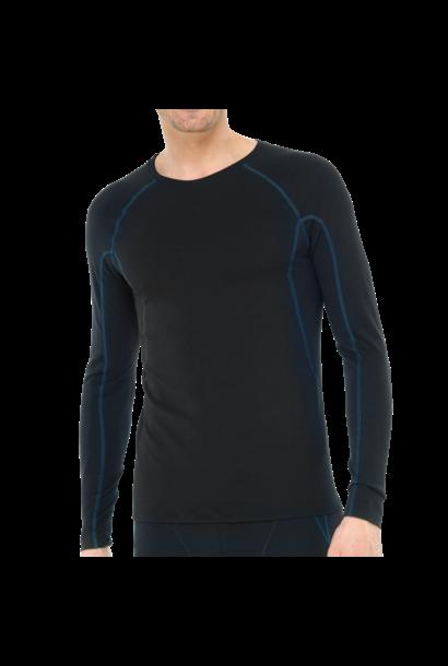 Thermo T-shirt met lange mouw 135306 - zwart mt. 4