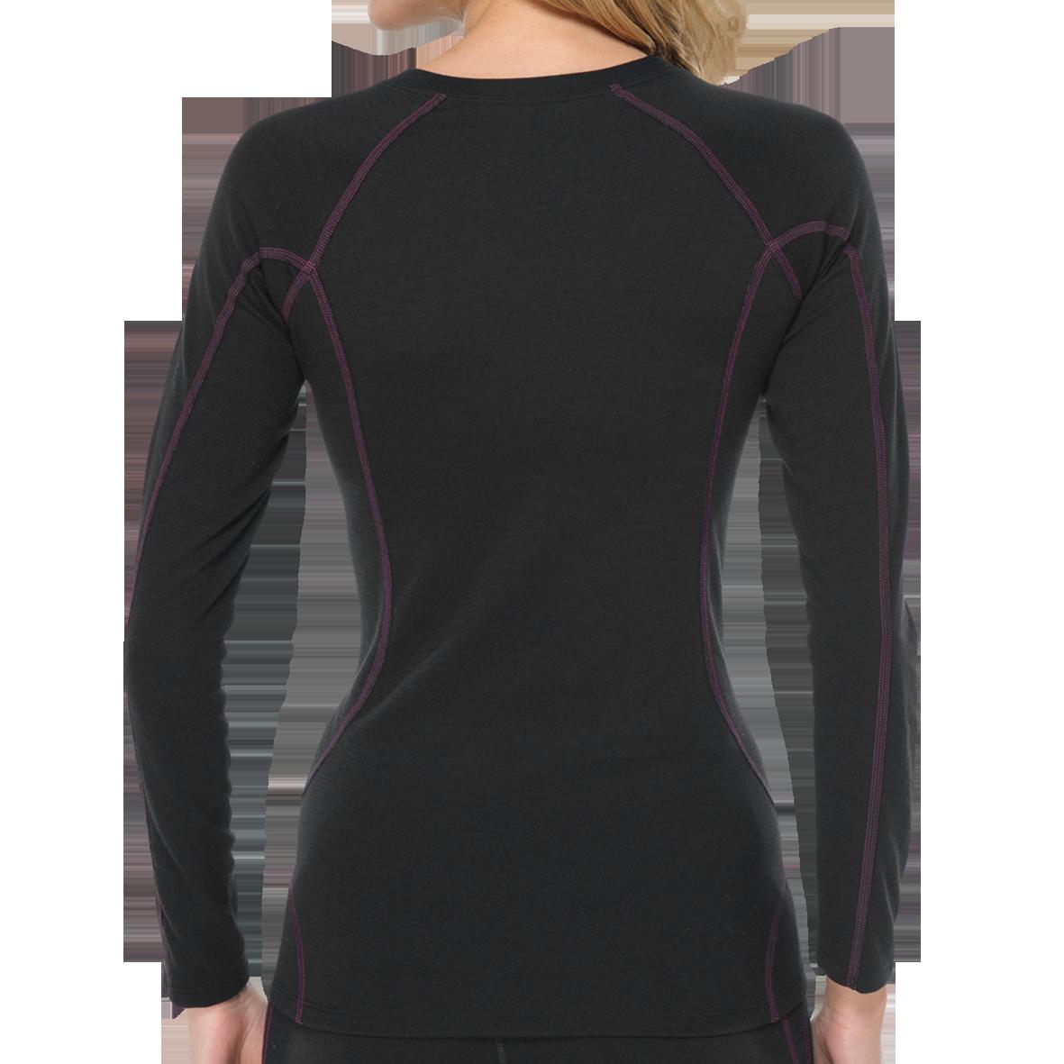 Thermo T-shirt met lange mouw 135302 - zwart-2