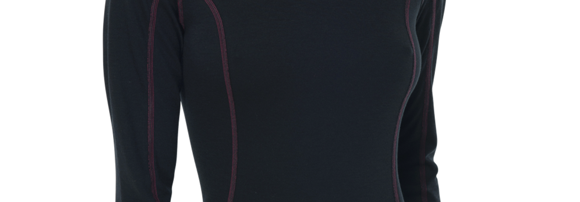 Thermo T-shirt met lange mouw 135302 - zwart