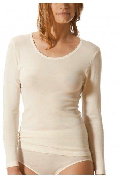 T-shirt lange mouw Primera 56502 - wit mt. 44