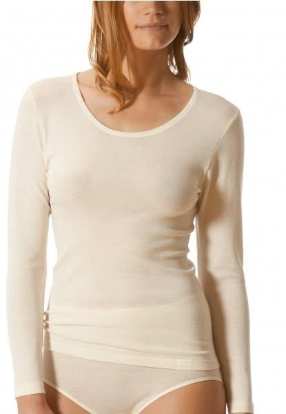 T-shirt lange mouw Primera 56502 - wit mt. 44-2