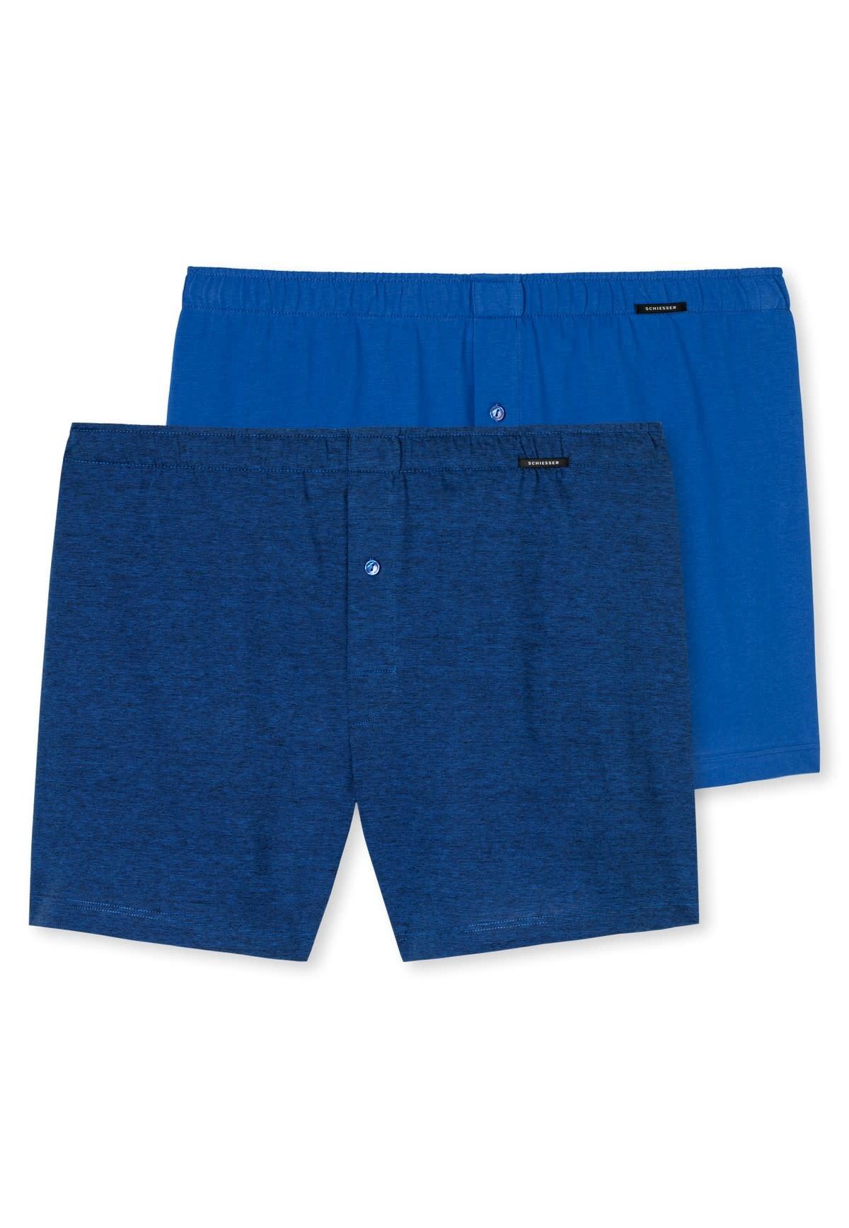 Boxershort 2-Pack 168446 - blauw-1