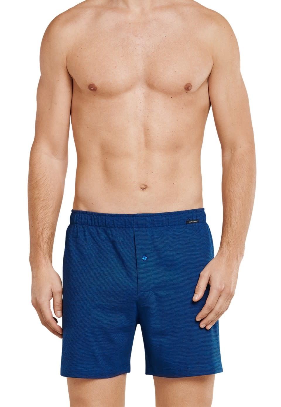 Boxershort 2-Pack 168446 - blauw/zwart-2