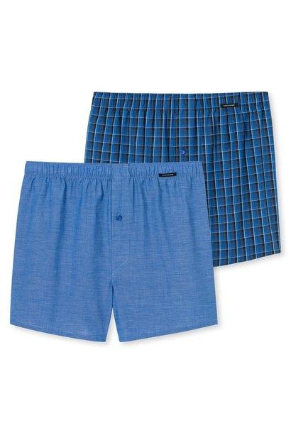 Boxershort 2-Pack 168445 - blauw