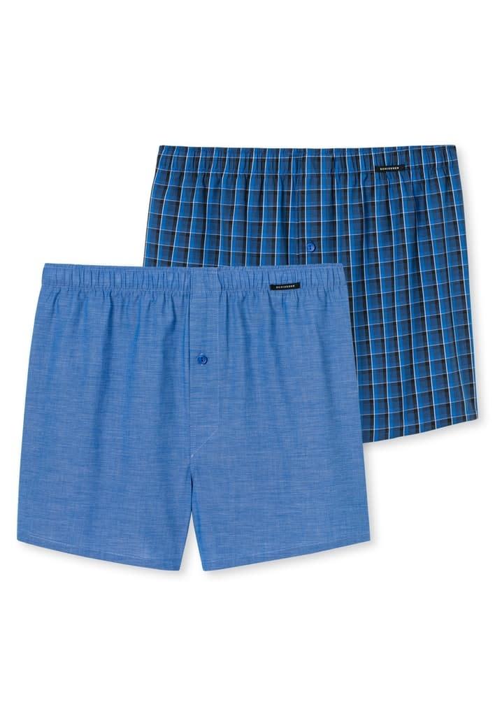 Boxershort 2-Pack 168445 - blauw-1