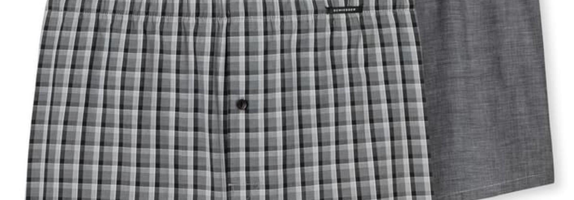 Boxershort 2-Pack 168445 - zwart