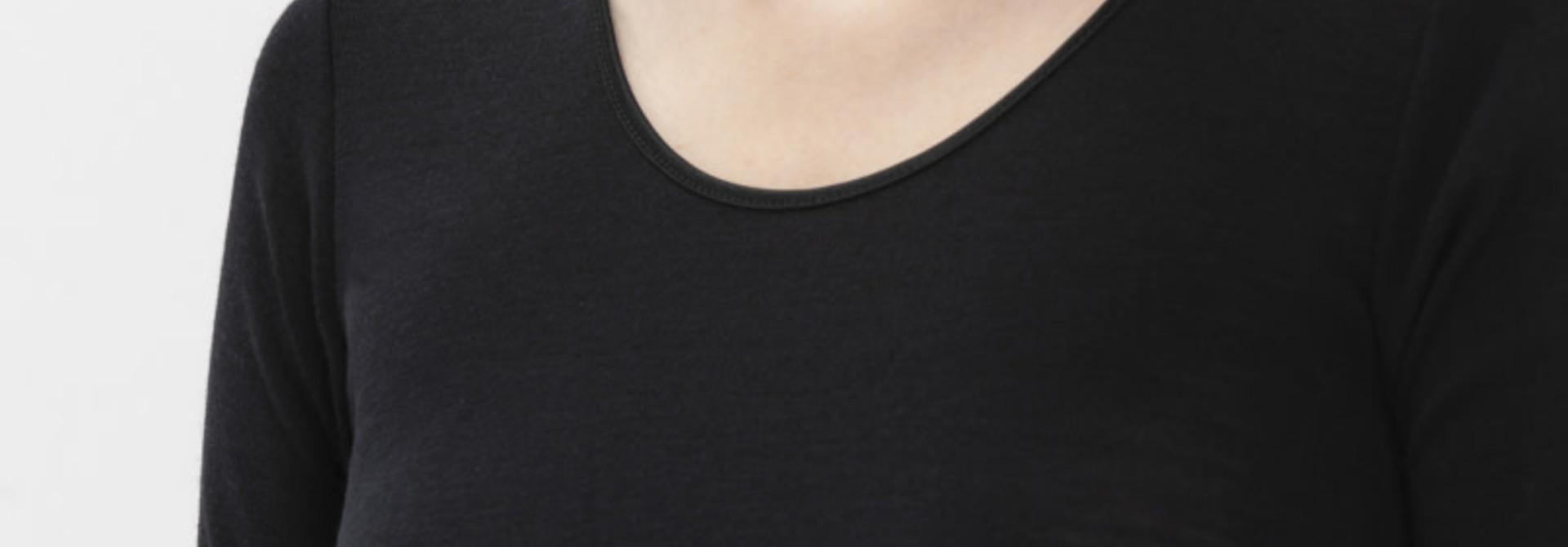 T-shirt Exquisite 66576 - zwart