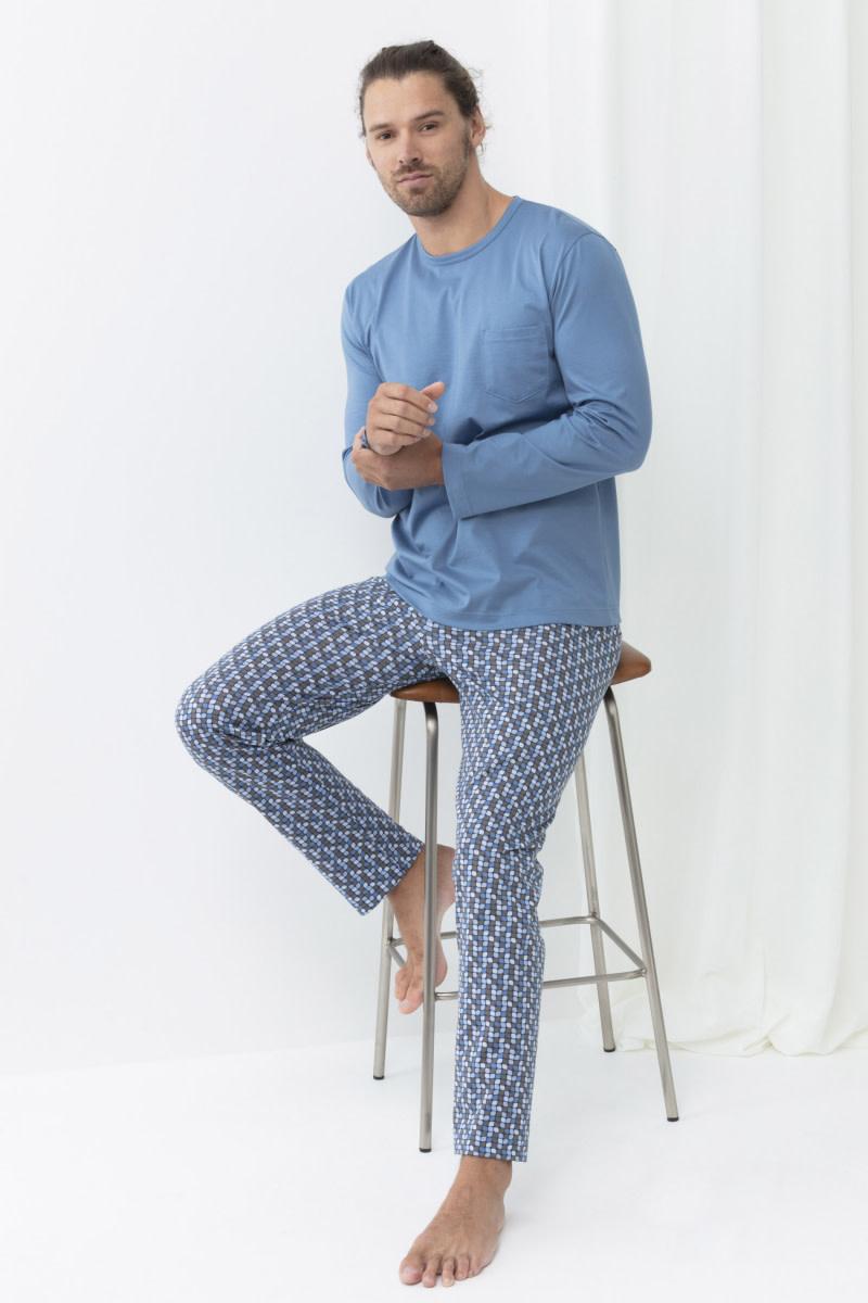 Pyjama lange mouw Perho 34010-1